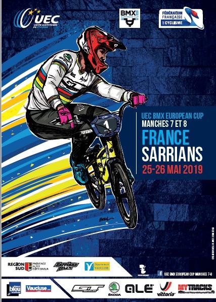 Calendrier Bmx 2019.Coupe D Europe Bmx 2019 Manches 7 8 Uec Union